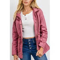Faux Fur-lined Hooded Anorak NEW