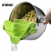 MOM'S HAND Silicone Pot Pan Bowl Strainer