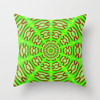 Tripping the Lights  Throw Pillow by Baggieoldboy | Society6