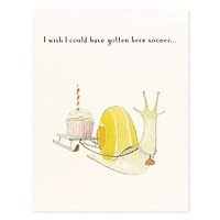Snail Mail Belated Birthday Card