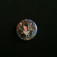 "STRANGER THINGS 1"" button"