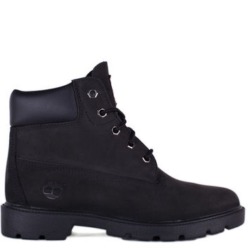 Shoes - Kids - Grade School - Timberland Kids 6 Inch Classic Boot Grade School - Black - DTLR - Down Town Locker Room. Your Fashion, Your Lifestyle!