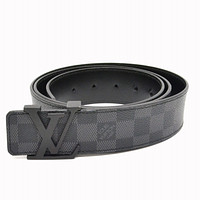 Louis Vuitton LV belt Initiales Damier Graphit - M9808 110 cm