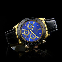 ROLEX Woman Men Fashion Quartz Movement Wristwatch Watch