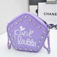 Chain Rivet One Shoulder Fashion Stylish Bags [6581836871]
