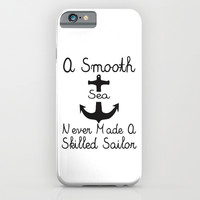 A Smooth Sea iPhone & iPod Case by Pati Designs
