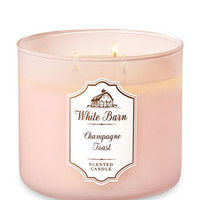 White BarnCHAMPAGNE TOAST3-Wick Candle