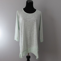 Lite Knit Bow Back Top in Melon