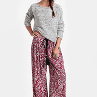 Land of Spices Paisley Pants