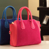 Matte Ladies Bags Tote Bag One Shoulder Stylish Messenger Bags [6583240455]