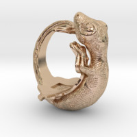 Gecko Size7 by akira on Shapeways