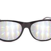 Diffraction Glasses - High Quality Effect - Rave Accessories - Hello Kitty Black