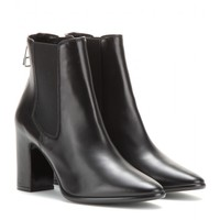 balenciaga - charlotte leather ankle boots