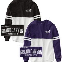 Grand Canyon University Women's Color Block RaRa Long Sleeve T-Shirt