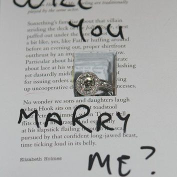 Wedding Republic   Pass it On: Proposing Marriage with a Note