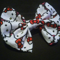 Hello Kitty Bow hairbow, perfect for all ages