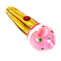 Dynomite Glass - I SCREAM, YOU SCREAM, WE ALL SCREAM FOR THIS ICE CREAM PIPE!