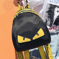 Fendi Summer new fashion woman bag han edition leisure mini double shoulder bag lady simple 100 - set Oxford cloth small backpack