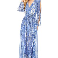 Water Lily Maxi Dress