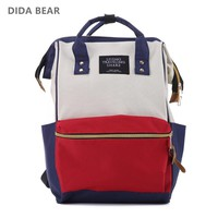 Denim School Bag For Teenagers Girls