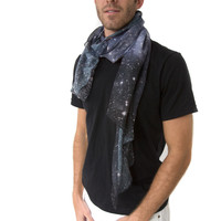 Hubble Galaxy Scarf Men