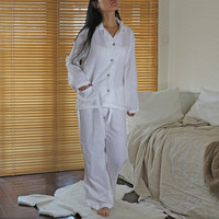 """Joan"" Soft Linen Pyjama Set"