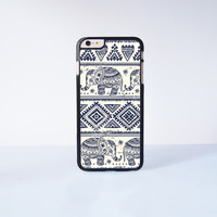 Elephant Aztec Generic Plastic Case Cover for Apple iPhone 6 Plus 4 4s 5 5s 5c 6