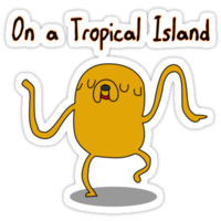 Adventure Time On a Tropical Island