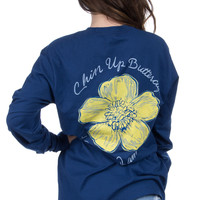 Lauren James: Chin Up Buttercup {Estate Blue}