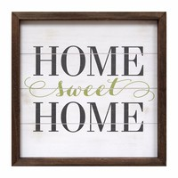 Home Sweet Home Wall Art By Stratton Home Decor