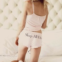 Wildfox Couture Up All Night Cami Pajama Set in Pink
