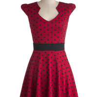 The Story of Citrus Dress in Red