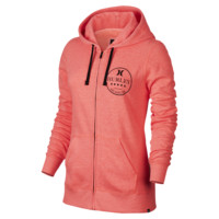 Hurley Tropic Scope Icon Fleece Full-Zip Women's Hoodie