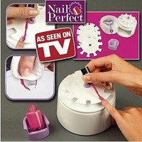 """NEW HOT ITEM Nail perfect nail art polishing tool """"Perfect solution for salon perfect beautiful nails every time: Beauty"""