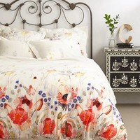 Garden Buzz Duvet by Michelle Morin