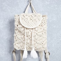 Braided Rope Backpack