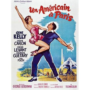 An American in Paris Poster//An American in Paris Movie Poster//Movie Poster//Poster Reprint