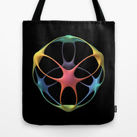 Hello, Human Tote Bag by Lyle Hatch