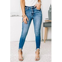 Nothing Compares Mid Rise Jeans