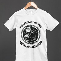 Welcome To The Neighborhood - Chimpanzee Thug T Shirt - Other styles are available