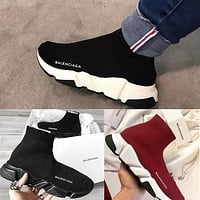 Boys & Men Boots Balenciaga Sport Shoes Women Sneakers