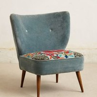 Lovisa Applique Chair by Anthropologie Multi One Size Furniture