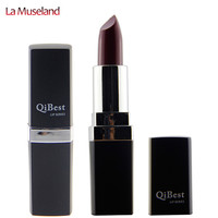 Long-Lasting 12 Colors Lipstick Cosmetic Nutritious Lip 3.5g  Makeup Brand Qibest  #Q2502