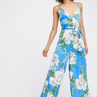Free People Cabbage Rose Romper