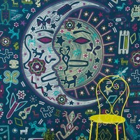 Mystic Folk Tapestry - Urban Outfitters