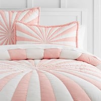 The Emily & Meritt Umbrella Stripe Quilt + Sham