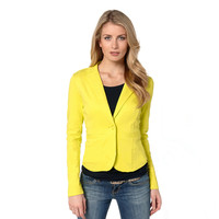 V-Neck Sleeve With Button Lapel Top