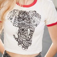 CAMILLE TRIBAL ELEPHANT TOP