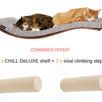 wave shelf cat shelf climbing step cat perch combined offer cat bed cat furniture cats shelves scratching post sisal post sales