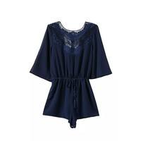 LACE PLAYSUIT (2 colors)